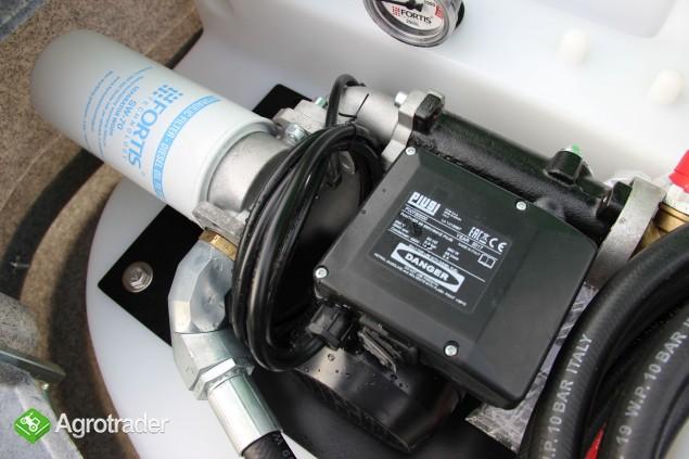 Zbiornik dwupłaszczowy na paliwo on fortis 2000 l cpn  - zdjęcie 4