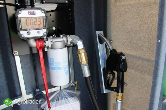 Zbiornik dwupłaszczowy na paliwo on ropę fortis 3000 L cpn  - zdjęcie 7