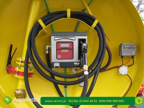 Zbiornik na paliwo na przyczepie 10000 litrów - zdjęcie 7