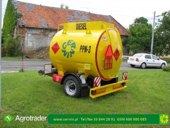 Zbiorniki na paliwo - przyczepa na paliwo  - zdjęcie 5