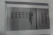 Instrukcja obsługi Zetor 5011,6011,6045,7011,7045.