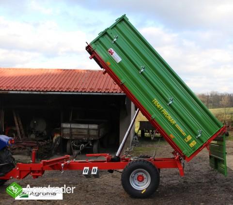 Wywrotka rolnicza Pronar T 654/1 przyczepa jednoosiowa 3,5t - zdjęcie 3