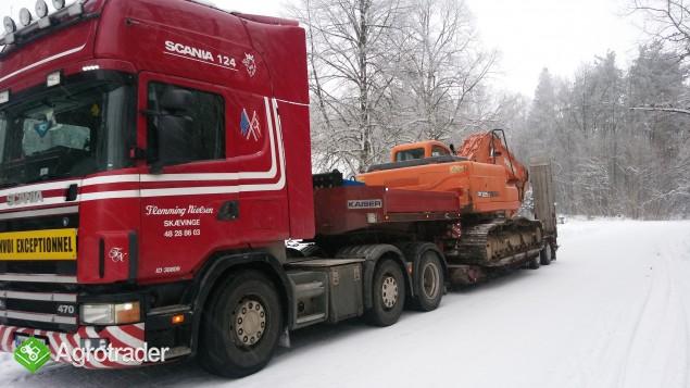 Transport koparek ładowarek maszyn  JCB KOMATSU DOOSAN - zdjęcie 2