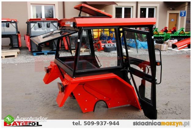 Kabina C-360 NAGLAK z metalowymi kanciastymi błotnikami (komfortowa)  - zdjęcie 6