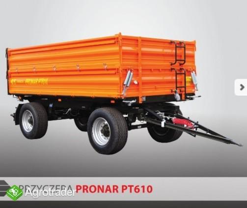 przyczepa rolnicza paletowa Pronar PT610