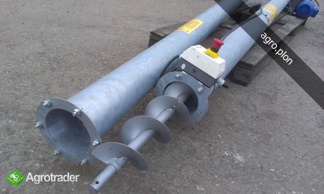 Przenośnik ślimakowy Żmijka OCYNK Fi 110 / 130 / 150 Transport - zdjęcie 2