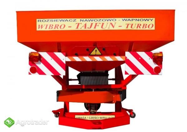 Rozsiewacz Nawozów TAJFUN 850l/1200kg wibro SADOWNICZY TRANSPORT !!!