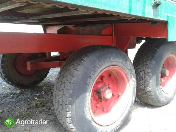 Rozrzutnik obornika tandem 6 ton - zdjęcie 3