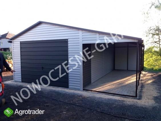 Garaż drewnopodobny przetłoczenia w poziomie CAŁA POLSKA! - zdjęcie 4