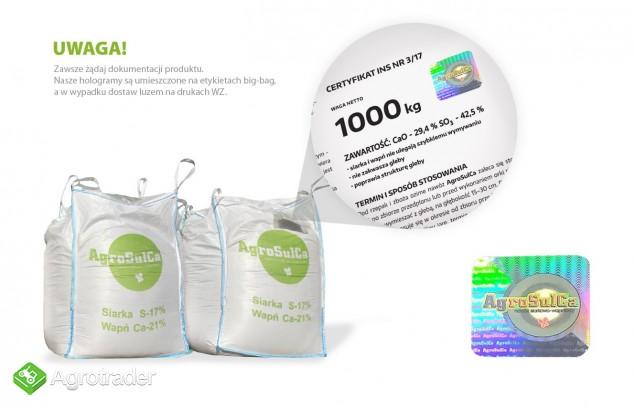AgroSulCa siarczan wapnia - zdjęcie 1