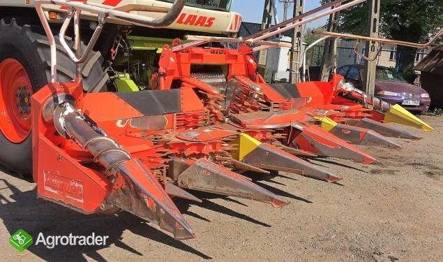 SIECZKARNIA CLAAS JAGUAR 850 4X4 SPEEDSTAR + KEMPER 345 - 2002 ROK - zdjęcie 5