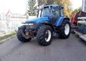 NEW HOLLAND TM 165 - WOM + TUZ - 2002 ROK