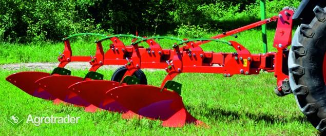 Pług jednobelkowy zagonowy resor Agro-Masz pługi resorowe - zdjęcie 1