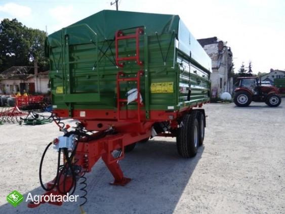 Przyczepa rolnicza tandem TRANSPORT 10T PRONAR T663/1 - zdjęcie 4