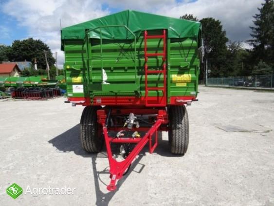 Przyczepa rolnicza 8 t paletowa PRONAR PT608 od ręki wyprzedaż - zdjęcie 6