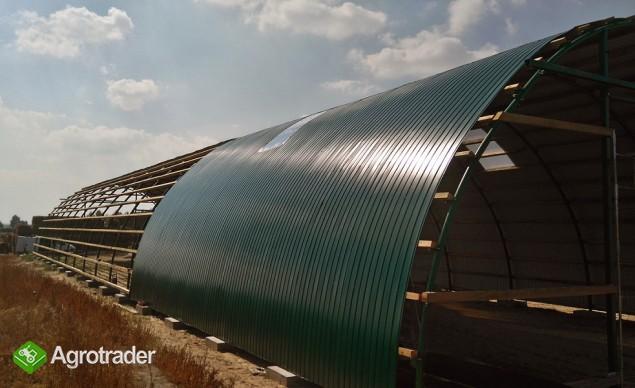 HALA łukowa tunelowa magazynowa hangar 11,8 x 20 - zdjęcie 1