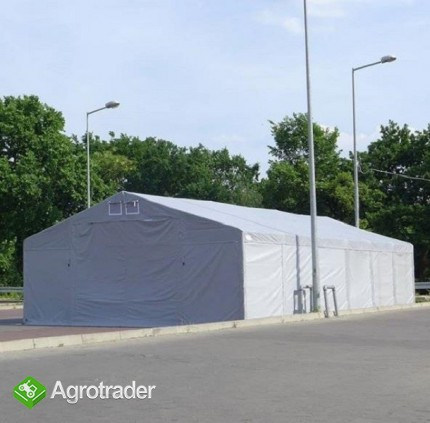 Hala namiotowa całoroczna 5×6 × 2,5m/3,41m wiata garaż solidny - zdjęcie 6