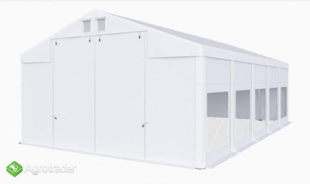 Całoroczna Hala namiotowa 5m × 10m × 2,5m/3,41m - zdjęcie 2