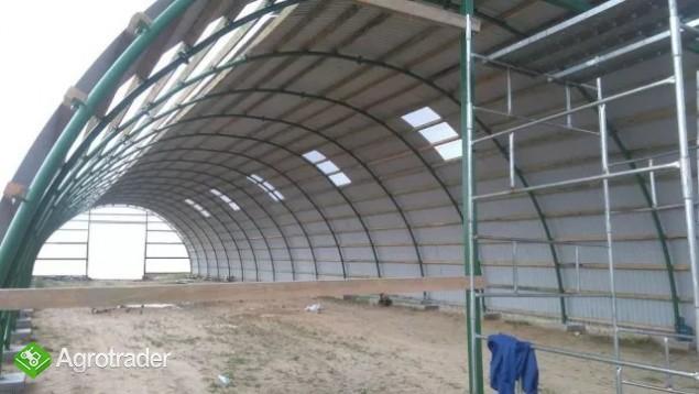 HALA łukowa tunelowa bydło obora chlew 11,8 x 30 - zdjęcie 1