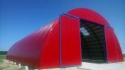 HALA łukowa tunelowa magazyn hangar 11,8 x 40