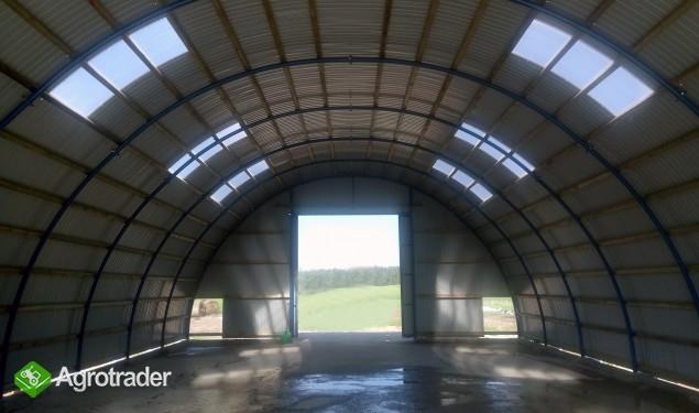 HALA stalowa łukowa tunelowa magazynowy 10,8 x 70 - zdjęcie 2