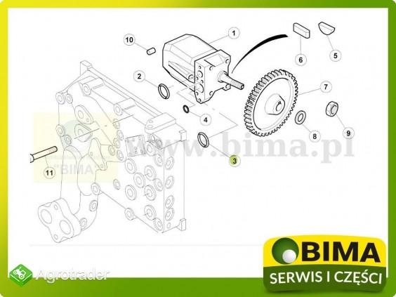 Uszczelniacz pompy hydrauliki Renault CLAAS Ares 630 - zdjęcie 1