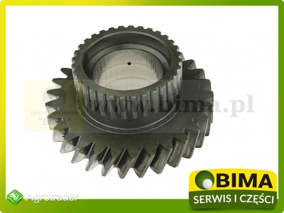 Używane koło zębate tylnego wałka Renault CLAAS Temis 550