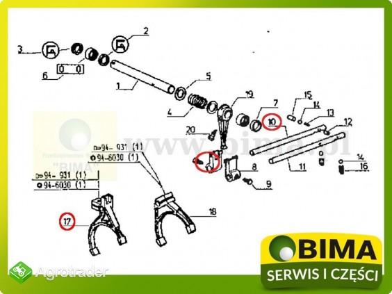 Używane widełki z blokadą Renault CLAAS 113-12,113-14 - zdjęcie 2