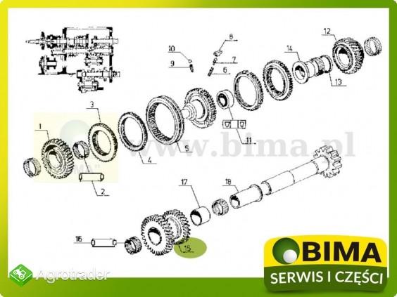 Używane koło zębate rewersu Renault CLAAS 110-14,110-54 - zdjęcie 4