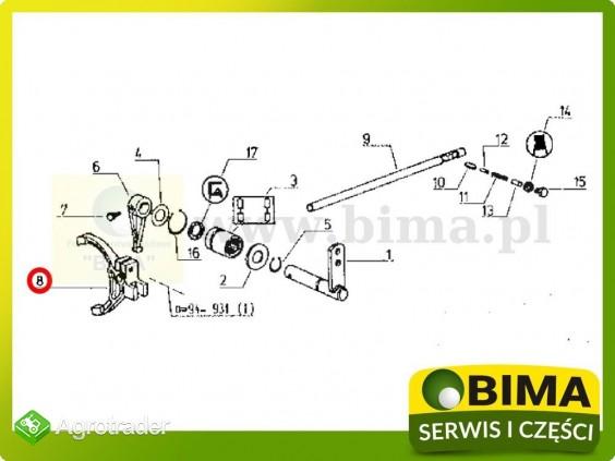 Używane widełki Renault CLAAS 95-12,95-14,103-12,103-14 - zdjęcie 2