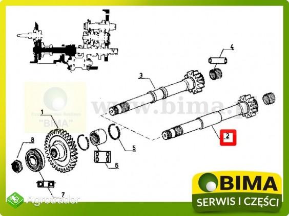 Wałek wom Renault CLAAS 103-12,103-14,103-52,103-54 - zdjęcie 3
