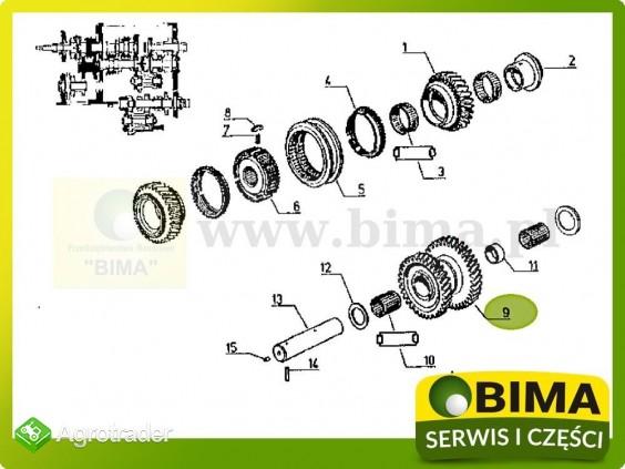 Używane koło zębate choinka Renault CLAAS 133-14,133-54 - zdjęcie 3