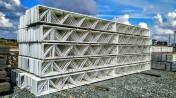 7,90 m. Konstrukcja stalowa hala kratownica dachowa ocynkowana magazyn