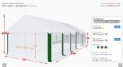 Hala namiot weselny reklamowy biesiadny nowy 3x20x2 mtbtent.pl!
