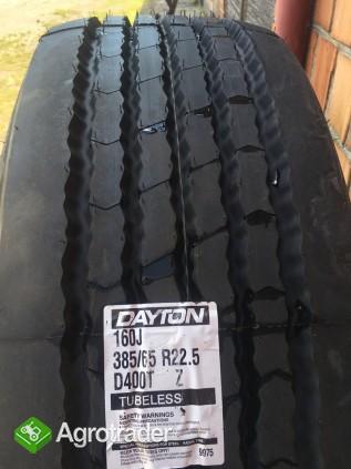 Koło opona DAYTON D400T 385/65 22.5 Wielton Pronar Metaltech przyczepy - zdjęcie 2