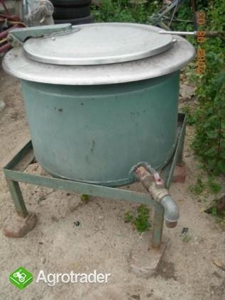 Pojemnik, kocioł parowy, zbiornik do mleka