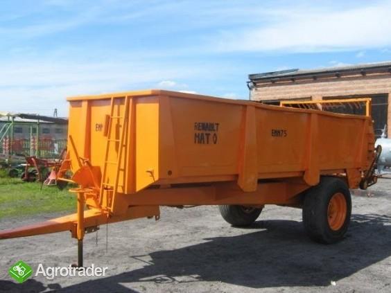 Rozrzutnik obornika RENAULT Maitree 9 ton