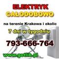 Elektryczne Uslugi Kraków  Tel. 793-666-764