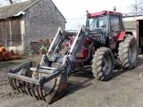 Sprzedam ciagnik rolniczy CASE 855AXL + tur FAUCHEUX F200