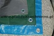 Plandeka rolnicza przeciwdeszczowa 3x4 wodoodporna