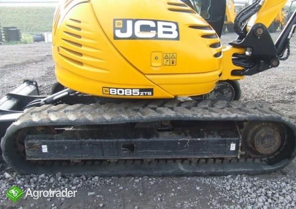 JCB 8085 ZTS , rok 2010 - koparka gąsienicowa - zdjęcie 4