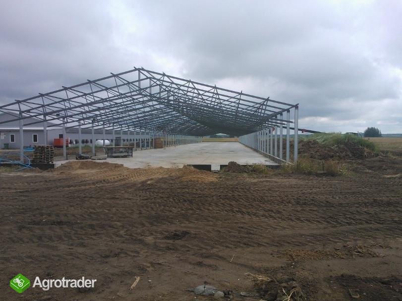 Bardzo dobra konstrukcja stalowa,wiata hala ,obora Brok • Agrotrader.pl KB64